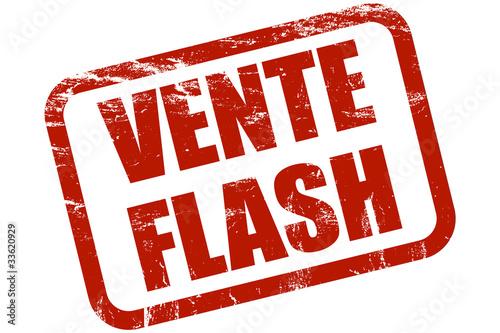 Grunge stempel rot vente flash photo libre de droits sur la banqu - Vente flash televiseur ...