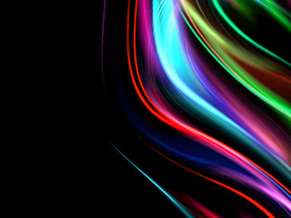 abstract wavy colorful design backdrop