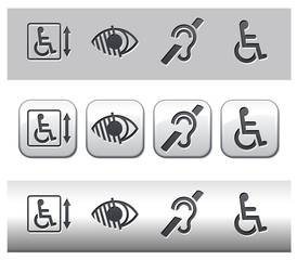 Icônes handicap