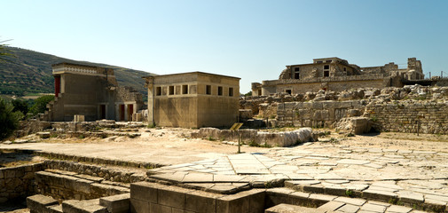 The ruins of Knossos