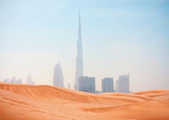 Printed roller blinds Dubai desert and Dubai