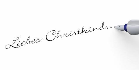 Stift Konzept - Liebes Christkind