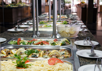 Buffet style food - a series of RESTAURANT images.