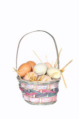 Huevos caseros.
