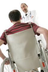 Handicap à l'hôpital
