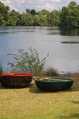 old coracle boats