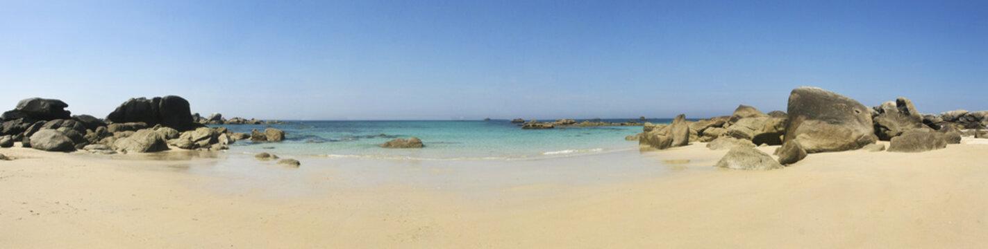 une plage de rêve