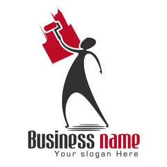 logo peintre