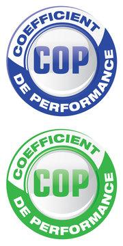 COP - coefficient de performance