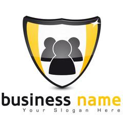 logo groupe de personne