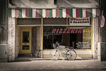 Canvas Prints Pizzeria pizzeria