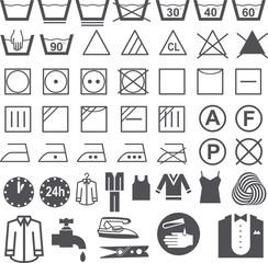 wäsche symbole