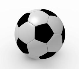 3D rendered soccer ball