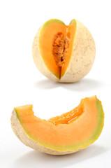 Melone con fetta