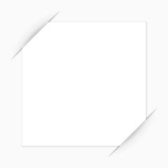 visitenkarte in geschlitzten papier 1