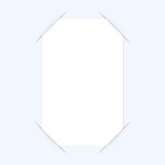 visitenkarte in geschlitzten papier 4