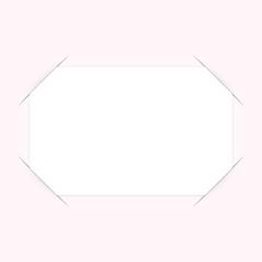 visitenkarte in geschlitzten papier 5