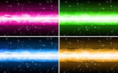 vector background set