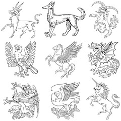 Heraldic monsters vol IV