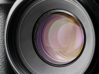 camera lens - shot - blades close and open