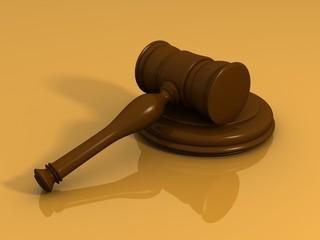 wooden auction hammer