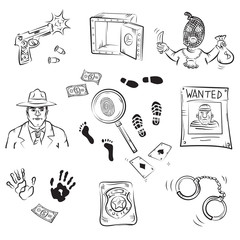 Crime Story Sketches