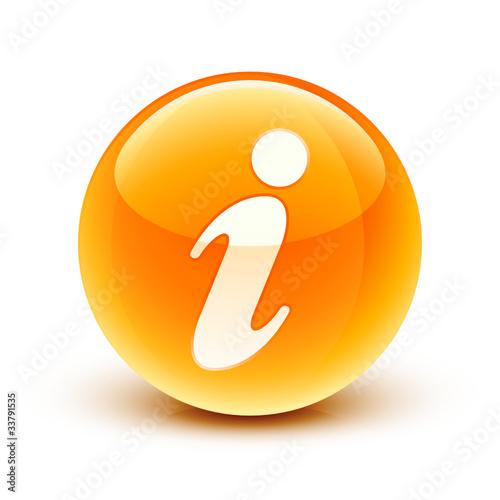 """""""icône Information / Information Icon"""" Fichier Vectoriel"""