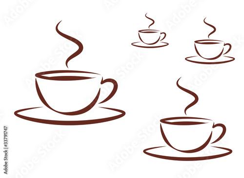 kaffeetassen picto 4 gr en stockfotos und lizenzfreie. Black Bedroom Furniture Sets. Home Design Ideas