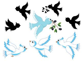 Doves set