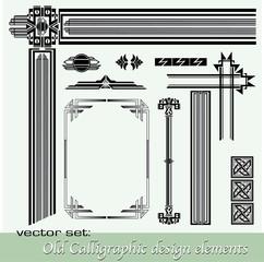 Vintage design elements_7