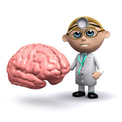 3d Doctor takes a look at your brain...