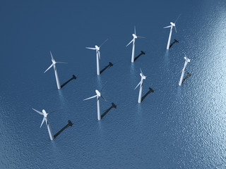 Offshore Windpark (3D)