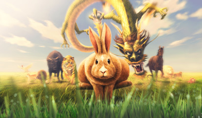 十二支全員集合ウサギ