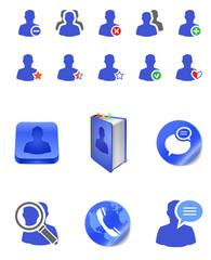 social member icons