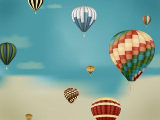 ballon himmel