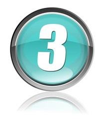 numero tre icona