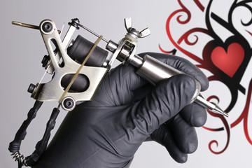Tattoomotiv Tattoomachine