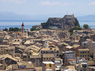 Obraz fortification in Corfu - fototapety do salonu