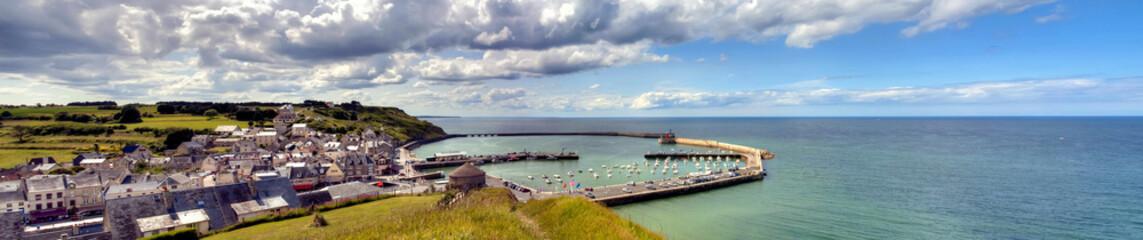 Fototapete - Panorama Port-En-Bessin