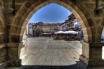 Oliveira's Square, Guimarães, Portugal