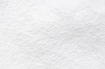 closeup white snow for background