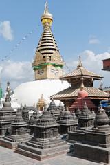 Monkey temple - Kathmandu Nepal