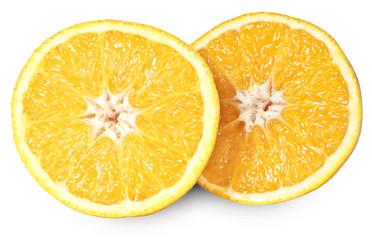 Zerschnittene Orange