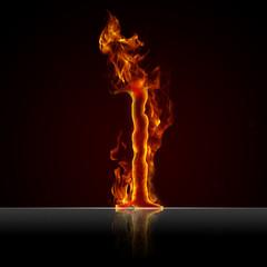 Feuertext Effekt Nummer 1