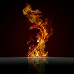 Feuertext Effekt Nummer 2