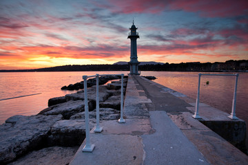 Geneva Cityscape - The Lighthouse