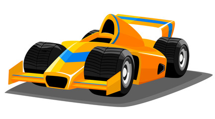 Recess Fitting Cars Cartoon racing car