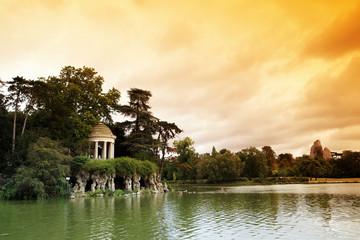 Paris, bois de Vincennes