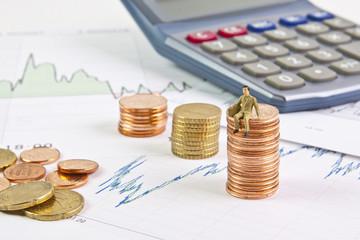 Aktien und Gewinner Dividende