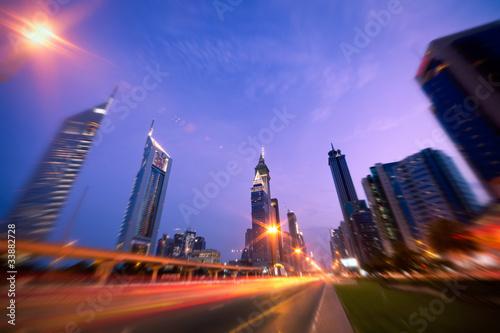 Wall mural Dubaï ville